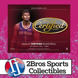 2020-21 Certified BK 12 Hobby Box Full Case Break 10/22 5pm CST - Clippers