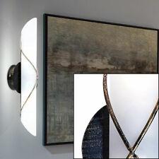 2x LED VINTAGE Wand Lampen Fackel Glas Gäste Zimmer Landhaus Stil Beleuchtung