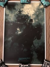 Indiana Jones and the Last Crusade Poster Crusade Variant Karl Fitzgerald Le 100