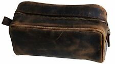 Leather Toiletry Bag for Men travel kit dopp utility kit Shaving Kit Gift For