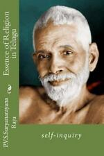 Essence of Religion in Telugu : Self-Inquiry by P. V. S. Suryanarayana Raju...