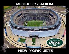 New York - METLIFE STADIUM - JETS - Flexible Fridge MAGNET