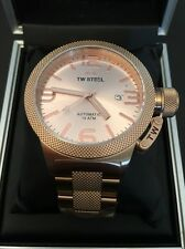 TW STEEL: CB235. CANTEEN. AUTOMATIC. Rose Gold. 45mm. BNWT. 50 Percent Off