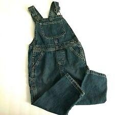 3T Toddler Denim Overalls Wrangler Faded Wash Blue Jean