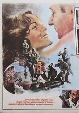 THE OLD GUN ROMY SCHNEIDER PHILIPPE NOIRET (2) LOBBY CARDS 1972
