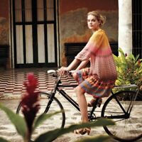 Anthropologie Tanvi Kedia Blushed Spectrum Peasant Dress Size S Small