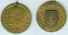 Alte Medaille Anhänger Kyffhäuser 1825 Empire