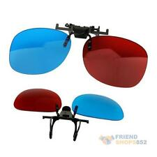 Red Blue Glasses Hanging Frame 3D 3D Glasses Myopia Special Stereo Clip Typ #F8s