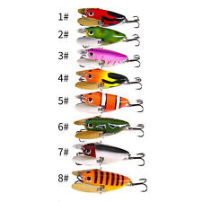 1pc 6cm12.5g Insect Lure Artificial Minnow Floating Topwater Crankbaits Wobblers