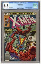 X-Men 129 (CGC 6.5) 1st Kitty Pryde, White Queen, Sebastian Shaw Newsstand (6791