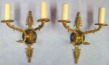 applique en bronze doré style empire, paire