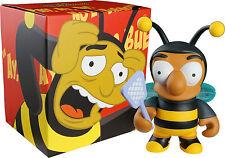 "KIDROBOT THE SIMPSONS BUMBLE BEE MAN 6"" VINYL FIGURE BRAND NEW"