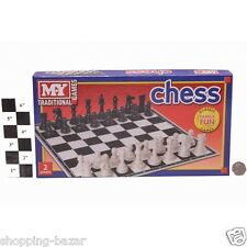 Traditional Chess Board Game for Family Children Kids Classic Board Game Chess