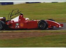 Luca Badoer Ferrari F1 Testing 2001 Signed Photograph 1