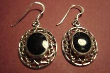 Onyx Women Silver Asian Earrings