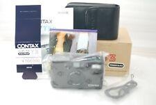 """""""TOP MINT in full Box""""Contax T3 Titanium BLACK  35mm SLR Film Camera #3632"""