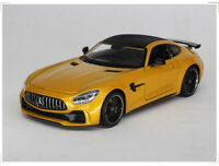 WELLY 1:24 Mercedes-Benz AMG GTR Alloy Car Model Boys Toys Static Display