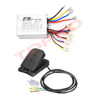 48v 1000w Brush Motor Speed Controller + Foot Pedal for Electric Scooter eBike
