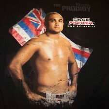 BJ PENN THE PRODIGY MMA CAGE FIGHTER T-Shirt MEDIUM NEW w/TAG