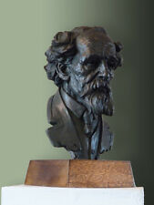 CC Bronze bust of Author Charles Dickens. Edition of only 50. Signed certificate