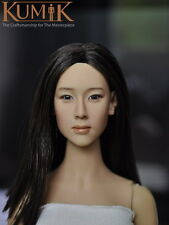 "Kumik 1:6 KM15-16 Women Head Sculpt Model Fit 12"" Female Action Figure Body"