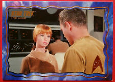 """STAR TREK TOS 50th Anniversary - """"THE CAGE"""" - GOLD FOIL Chase Card #7"""
