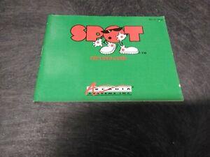 Nintendo NES Spot Game Instruction Manual
