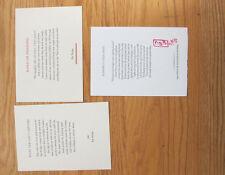 Pat Nolan Poetry broadside letterpress Evening's Cold Light  Exile in Paradise
