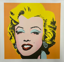 "ORIGINAL MONFORT 31"" ANDY WARHOL MARILYN MONROE HAND NUMBERED LITHOGRAPH !!!"
