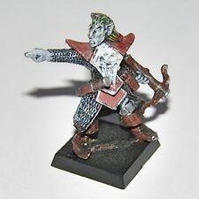 Marauder Elfo Oscuro leader in metallo in miniatura vintage CITTADELLA Fantasy Battle