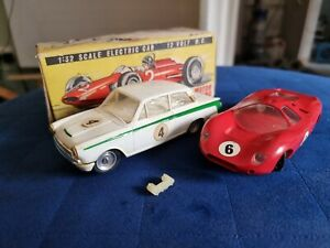 Vintage Airfix Ford Lotus Cortina & Ford GT Touring Cars 1:32 Boxed