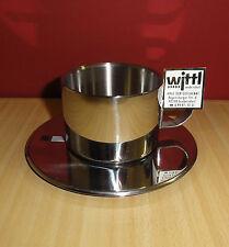 WMF Cappuccinotasse aus Edelstahl 2tlg. - Thermotasse - NEU!!!
