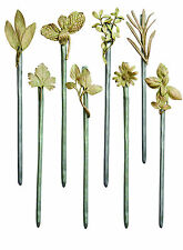 Garden Stakes - Set of 8 by Michael Michaud - Silver Seasons