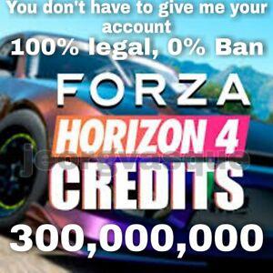 300 million of credits Forza Horizon 4 Xbox One and PC (Read the Description)