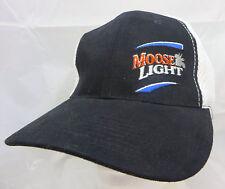 Moosehead light beer brewery baseball cap hat adjustable flex