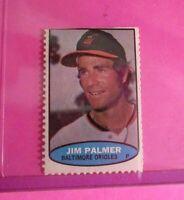 1974 Topps Stamps Jim Palmer HOF Baltimore Orioles NrMt (A)