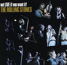 ROLLING STONES GOT LIVE IF YOU WANT IT REMASTERED CD NEW