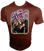 VTG 70s Orig HAN SOLO CHEWBACCA Classic STAR WARS Kenner 12 back UNUSED t-shirt