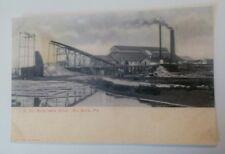 Old J.E. Du Bois Saw Mill Dubois PA. Rare Postcard Repo