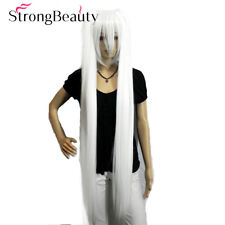 Hatsune Miku Cosplay Wig Double ponytail Long Straight 2 Clip-On Synthetic Color