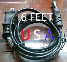 Power Cable Cord Plug for Canon PIXMA iP1500 iP2000 TS3122 MG5760 MG5765 Printer