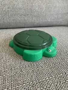 Little Tikes Dolls House Miniature Turtle Sand Pit Good Condition toy