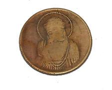 ANTIQUE 1818 UKL HALF ANNA COPPER GURU NANAKDEVJI ANTIQUE OLD COIN