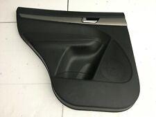 KIA SORENTO II RHD REAR LEFT DOOR TRIM PANEL BLACK OEM 83301-2P060AND