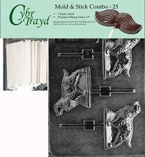 Cocker Spaniel Lolly Dog Chocolate Mold w/Cybrtrayd Instructions FREE STICKS