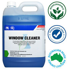 Glass & Window Cleaner 5 Litre 5L Concentrate Refill - Makes up to 100L!