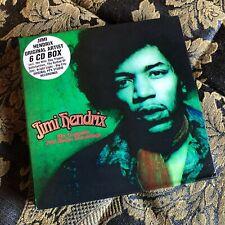 JIMI HENDRIX 6 x cd box set THE COMPLETE PPX STUDIO RECORDINGS SPV records
