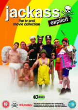 Jackass The TV and Movie Collection 10 Disc DVD Comedy Region 2 (uk) 2013