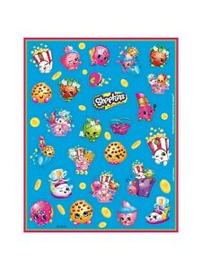 4 Sheets Shopkins Stickers Party Pack Favors Teacher Supply Rewards Supplies