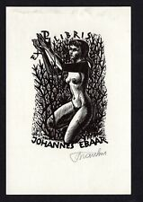 09)Nr.012- EXLIBRIS- Erotik / erotic,  Franko Ivo Van Damme